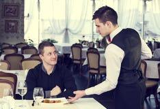 Servidor e o cliente Foto de Stock