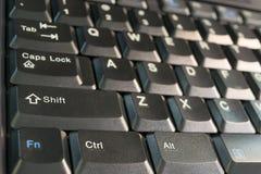 Servidor e teclado do objeto Fotos de Stock Royalty Free