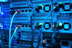 Servidores de red Imagen de archivo libre de regalías
