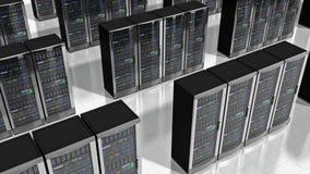 Servidores de red en datacenter