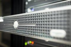 Servidores del almacenamiento en sitio nacional del sitio de los datos Imagenes de archivo