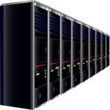 Servidores del ordenador Imagen de archivo