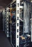 Servidores en sitio del servidor Foto de archivo