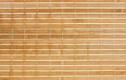 Serviette d'un bambou images stock