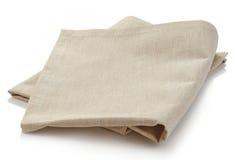 Serviette de coton Photo stock