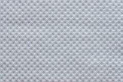 Serviette de papier de texture de gaufrette de la nuance blanche Photo libre de droits