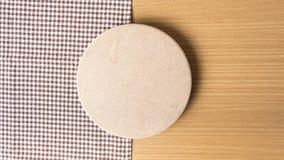 Serviette de planche à découper et de cuisine Photos stock