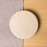 Serviette de planche à découper et de cuisine Photo stock