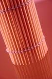 Serviette en bambou raccourcie par un roulis Images stock