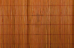 Serviette en bambou utilisée Photographie stock libre de droits