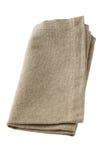 Serviette grise Photo stock