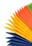 Serviettes de papier colorées Photo libre de droits