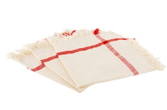 Serviettes de tissu Photo stock