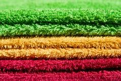 Serviettes multicolores images libres de droits