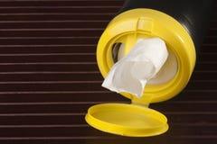 Serviettes pour le nettoyage Photos stock