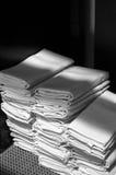 Servilleta blanca Fotos de archivo libres de regalías