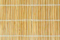Servilleta de bambú Fotografía de archivo
