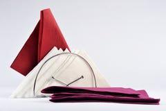 Servilletas coloreadas Imagen de archivo