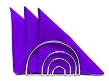 Servilletas de papel Foto de archivo libre de regalías