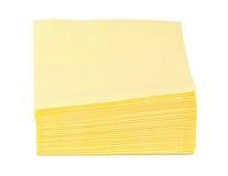 Servilletas de papel Imágenes de archivo libres de regalías