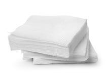 Servilletas de papel Imagen de archivo libre de regalías