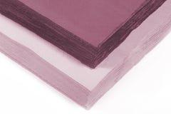 Servilletas de papel coloreadas Fotos de archivo