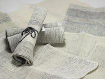 Servilletas del algodón del Handloom Fotografía de archivo libre de regalías