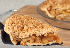 Serving Apple Pie Royalty Free Stock Images
