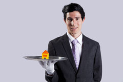 Serving the best house service Royalty Free Stock Photography