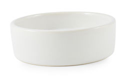 Serving  bowl isolated on white background Stock Images