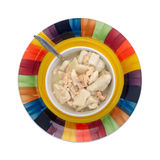Serving of chicken and dumpling soup Stock Photos