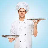 Serving food. Royalty Free Stock Photography