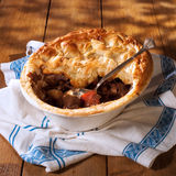 Serving Game Pie Royalty Free Stock Photography