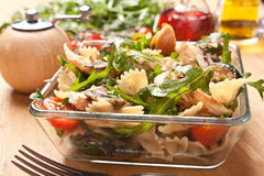 Free Serving Of Pasta Salad Stock Images - 15959484