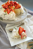 Serving Of Pavlova Royalty Free Stock Photo