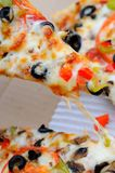 Serving of pizza Royalty Free Stock Photo