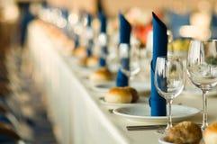 Serving in restaurant Stock Images