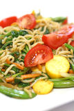 Serving of stir fried noodle Royalty Free Stock Photography