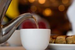 Serving Tea Stock Images