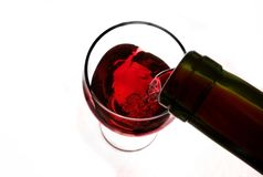 Serving wine Stock Photography