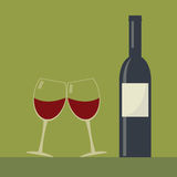 Serving wine. Royalty Free Stock Photography