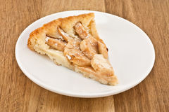 Servings of apple pie Royalty Free Stock Photos