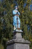 Servins wojenny pomnik, Francja Fotografia Royalty Free