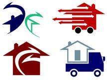 Serviço de transporte Imagem de Stock