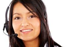 Serviços de atenção a o cliente representativos Foto de Stock