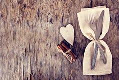 Servir la Saint-Valentin Photographie stock libre de droits