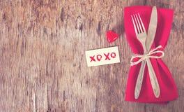 Servir la Saint-Valentin Image stock
