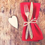 Servir la Saint-Valentin Photos stock