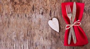 Servir la Saint-Valentin Image libre de droits
