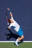 Servire 1 dell'Andy Murray immagini stock